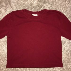 ZARA Red Long Sleeve